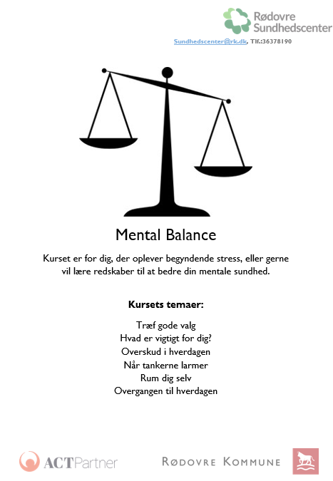 Få en sund psyke i Sundhedscentret